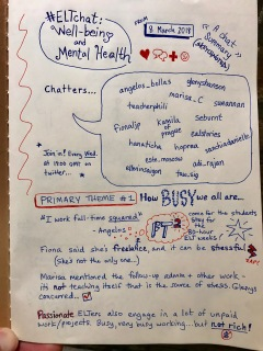 Teachers' well-being and mental health: an #ELTchat summary – Muddles into Maxims