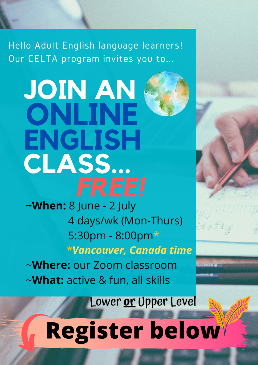 Free Online Course Poster